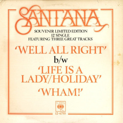 SANTANA - Well All Right