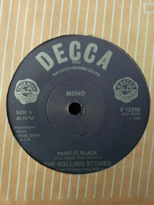 THE ROLLING STONES - Paint It, Black / Long Long While