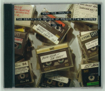 VARIOUS - From The Vaults: The Definitive Sounds Of Prescription Records Vol. 1