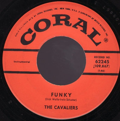 THE CAVALIERS - Teen Fever / Funky