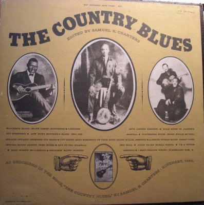 VARIOUS ARTISTS - The Country Blues