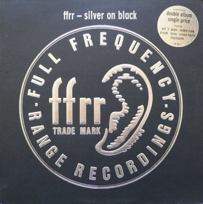 VARIOUS - Silver On Black