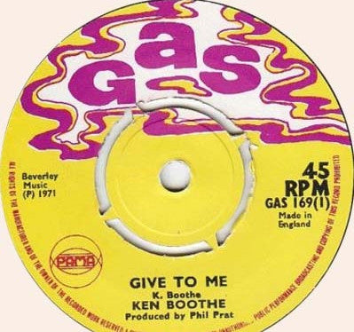 KEN BOOTHE - Give To Me / Why