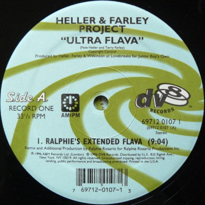 HELLER & FARLEY PROJECT - Ultra Flava