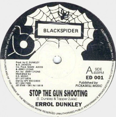 ERROL DUNKLEY - Stop The Gun Shooting / Come On Home To Me