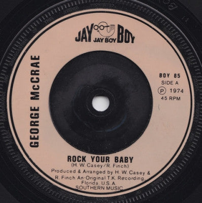 GEORGE MCCRAE - Rock Your Baby (Part 1 & 2).