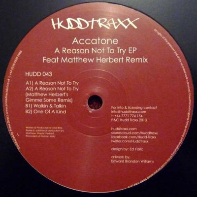 ACCATONE - A Reason Not To Try EP