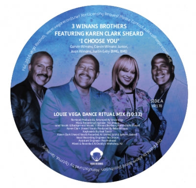 3 WINANS BROTHERS FEATURING KAREN CLARK SHEARD - I Choose You