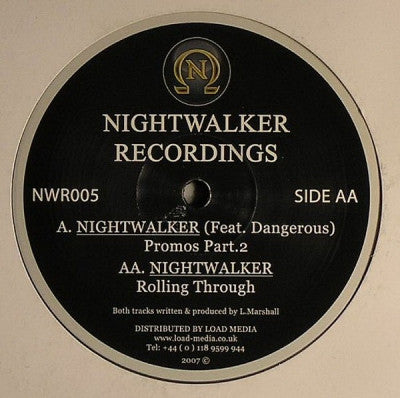 NIGHTWALKER - Promos Part.2 / Rolling Through