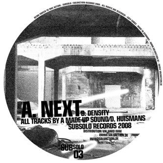 A MADE UP SOUND - Next / Density