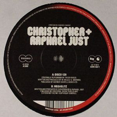 CHRISTOPHER + RAPHAEL JUST - Disco 128 / Megablitz