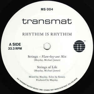 RHYTHIM IS RHYTHIM - Strings / Strings Of Life / Move It / Kaos