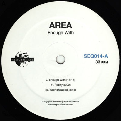 AREA - Enough With