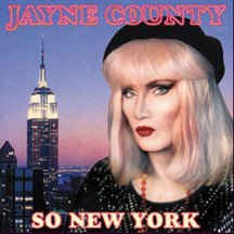 JAYNE COUNTY - So New York