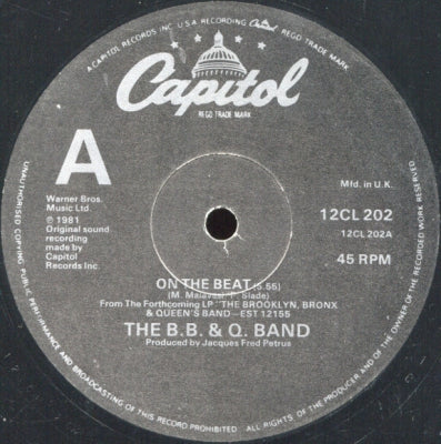 B.B. & Q. BAND - On The Beat