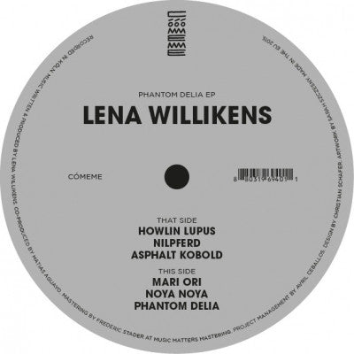LENA WILLIKENS - Phantom Delia EP