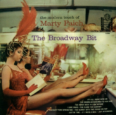 MARTY PAICH - The Modern Touch Of Marty Paich - The Broadway Bit