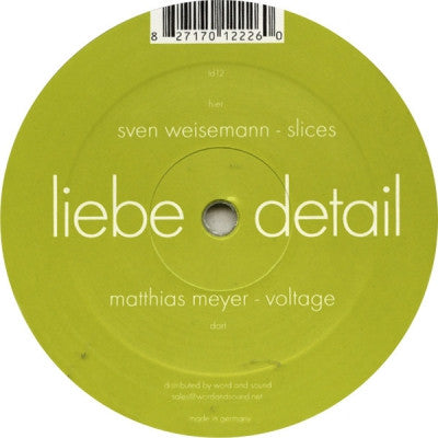 MATTHIAS MEYER / SVEN WEISEMANN - Voltage / Slices