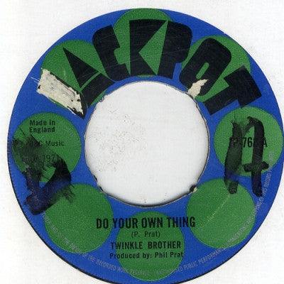 TWINKLE BROTHER / BOY WONDER - Do Your Own Thing / They Talk About Love