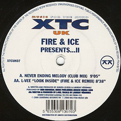 FIRE & ICE / L-VEE - Presents...II