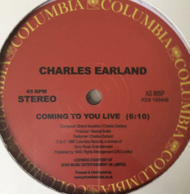 CHARLES EARLAND - Coming To You Live