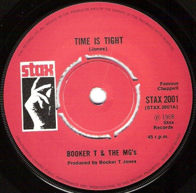 BOOKER T. & THE M.G.'S - Time Is Tight / Soul Limbo