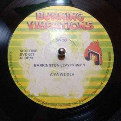 BARRINGTON LEVY / TRINITY - A Ya We Deh / Give Thanks And Praise