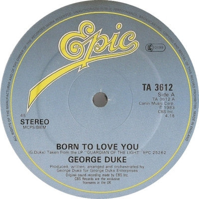 GEORGE DUKE - Born To Love You / Brazilian Love Affair