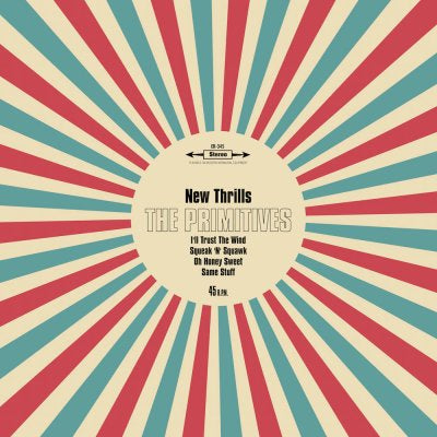 THE PRIMITIVES - New Thrills