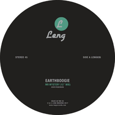 EARTHBOOGIE - Mr Mystery