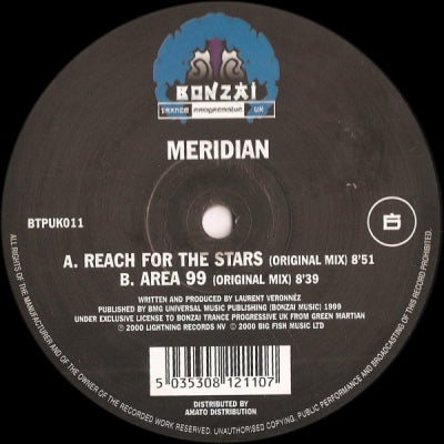 MERIDIAN - Reach For The Stars / Area 99