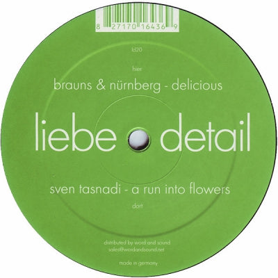 SVEN TASNADI / BRAUNS & NüRNBERG - A Run Into Flowers / Delicious