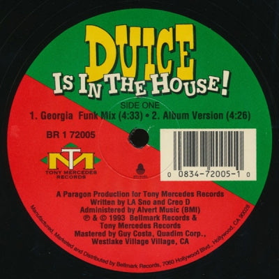 DUICE - Duice Is In The House!