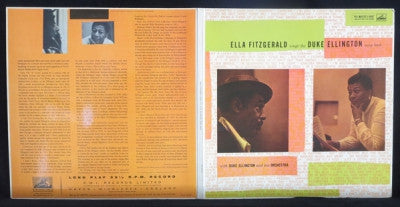 ELLA FITZGERALD WITH DUKE ELLINGTON AND HIS ORCHESTRA - Ella Fitzgerald Sings The Duke Ellington Song Book