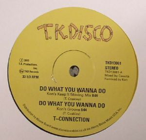 T-CONNECTION / JIMMY MCGRIFF - Do What You Wanna Do / Tailgunner