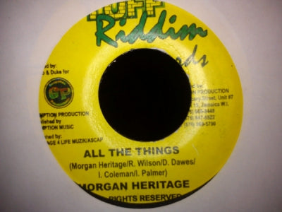 MORGAN HERITAGE / L.M.S. - All The Things / Can We