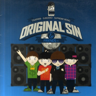 VARIOUS - Original Sin & Friends EP