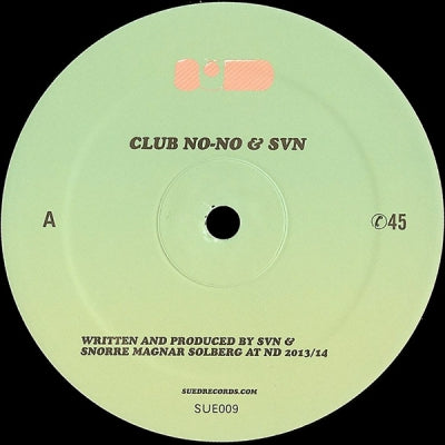 CLUB NO-NO & SVN - Untitled