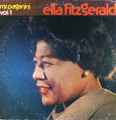 ELLA FITZGERALD - Vol/1: Mr. Paganini