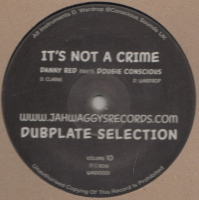 DANNY RED MEETS DOUGIE CONSCIOUS - Dubplate Selection Volume 7