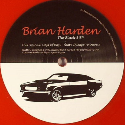BRIAN HARDEN - The Black 3 EP