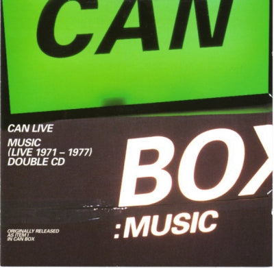 CAN - Music (Live 1971-1977)