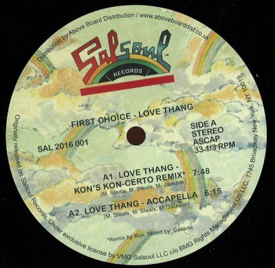 FIRST CHOICE - Love Thang Kon's Kon-Certo Remix