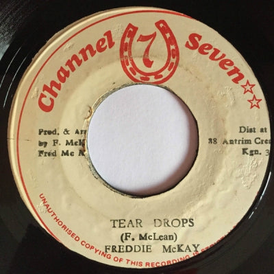 FREDDIE MCKAY - Tear Drops / Version