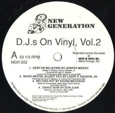 VARIOUS - D J s On Vinyl Vol 2