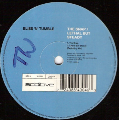 BLISS 'N' TUMBLE - The Snap / Lethal But Steady (Remix)