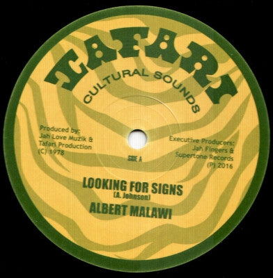 ALBERT MALAWI / BRIGADIER JERRY - Looking For Signs / Conscious Time