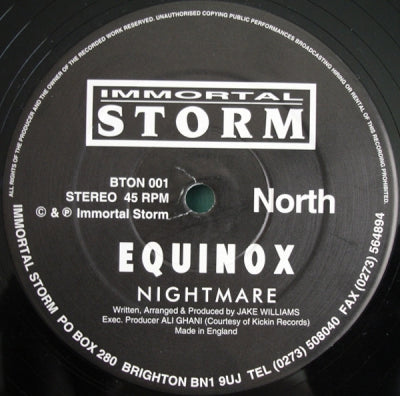 EQUINOX - Nightmare / Identify Yourself