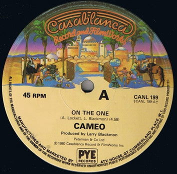 CAMEO - On The One / Cameosis