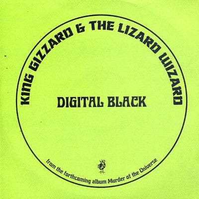 KING GIZZARD AND THE LIZARD WIZARD - Digital Black